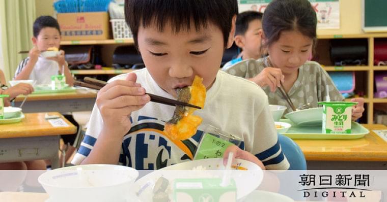 給食にヒラメのレモンソース 養殖日本一の街の支援策:朝日新聞デジタル