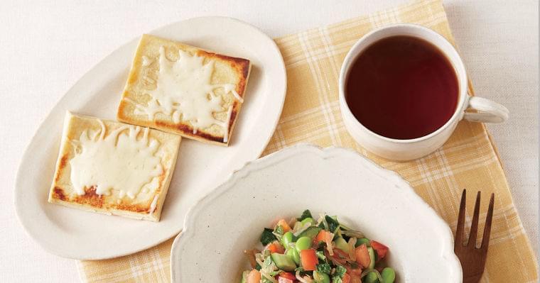 コロナ太りで体重が急増したら 高野豆腐をパン代わりに (1/3):日経ARIA