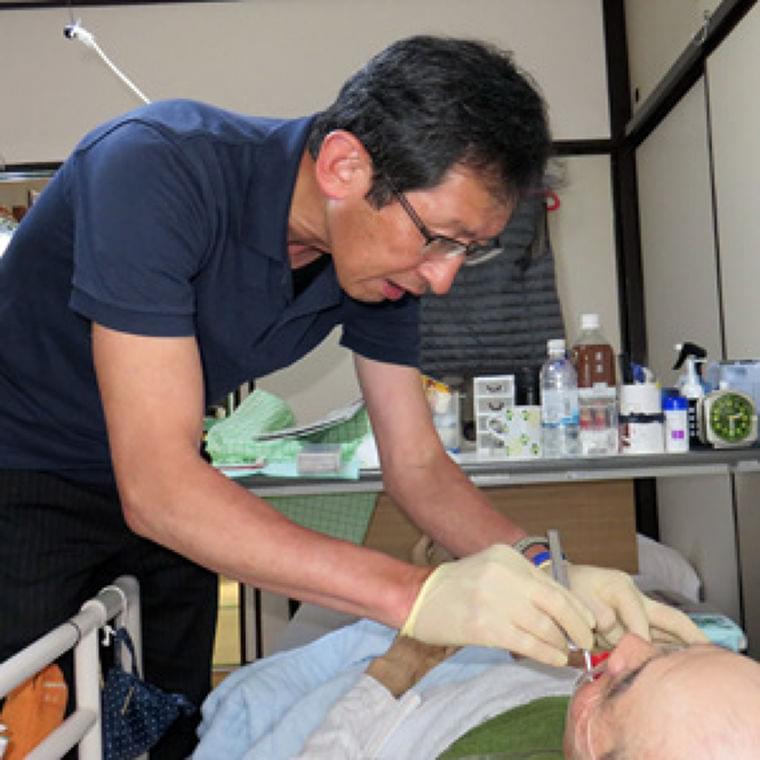 最期まで口から食べたい~訪問歯科医の挑戦~ : yomiDr. / ヨミドクター(読売新聞)