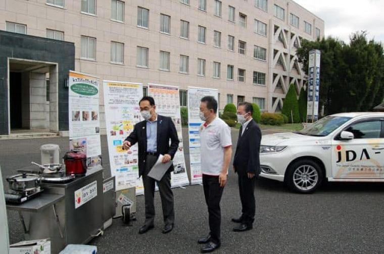 新型コロナ:埼玉県と栄養士会、災害時の食生活支援で協定  :日本経済新聞