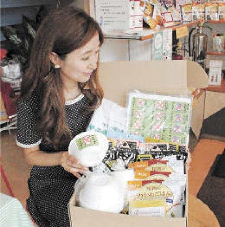 食物アレルギー対応の防災ボックス発売 山形の業者、避難時の不安解消を | 河北新報オンラインニュース