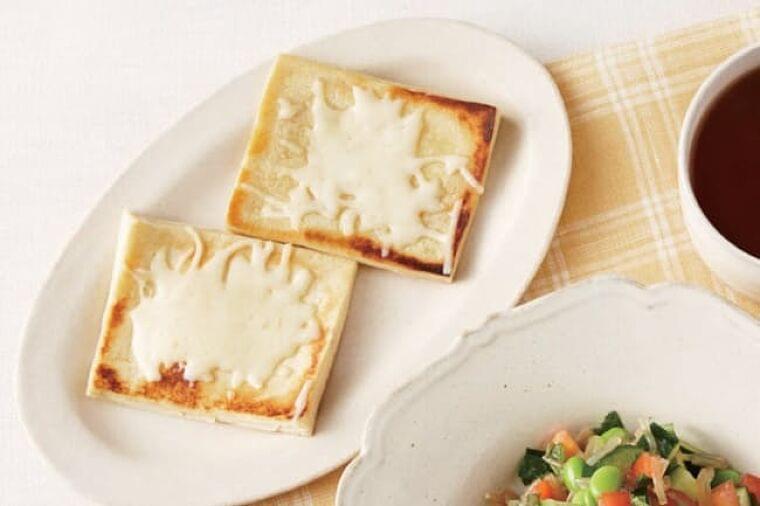 おなか満足ダイエット パン代わりに高野豆腐トースト