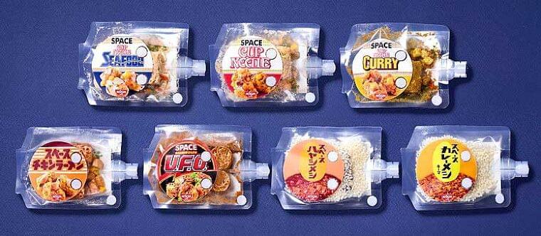 「スペースチキンラーメン」など宇宙日本食7品に拡充 野口氏とともにISSへ 日清食品 - 食品新聞社