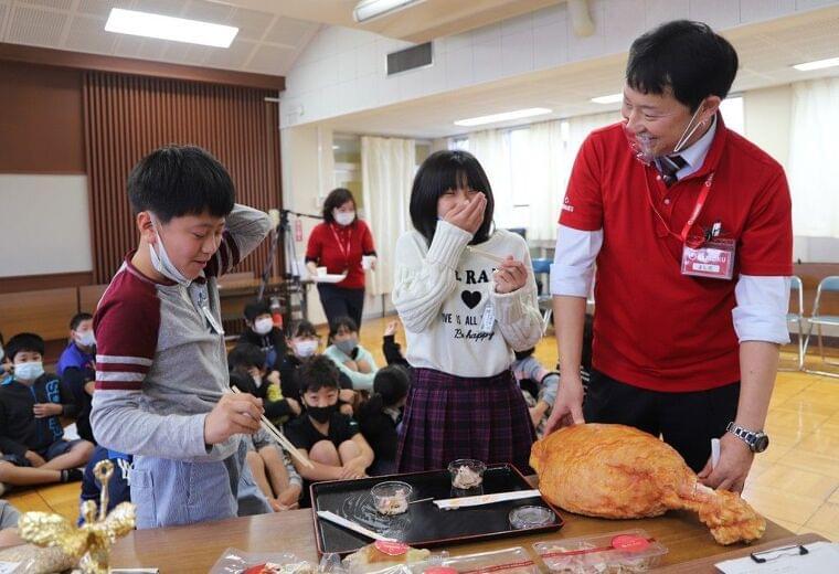 食育特別授業を実施 埼玉県日高市〔地域〕:時事ドットコム