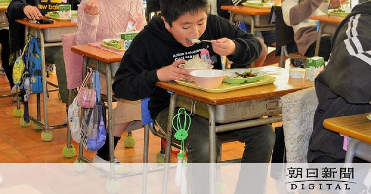 給食、再開祝ってポークカレー 台風から1年4カ月ぶり [新型コロナウイルス]:朝日新聞デジタル