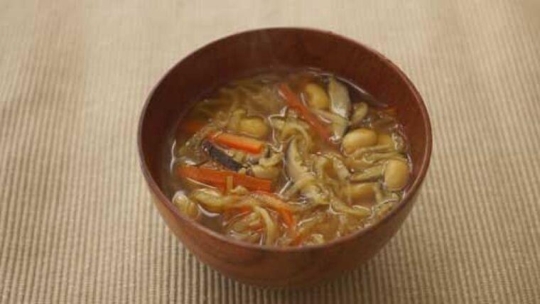 切り干しダイコンと大豆のカレースープ…心も体もほっこり温まるスープ : yomiDr./ヨミドクター(読売新聞)