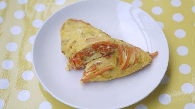 ニンジンオムレツ…簡単に調理できるお弁当のおかず : yomiDr./ヨミドクター(読売新聞)