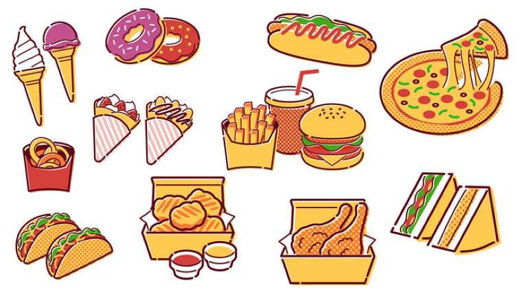 68カ国の12〜15歳18万人の調査で、食料不安とファストフード摂取量に有意な関連