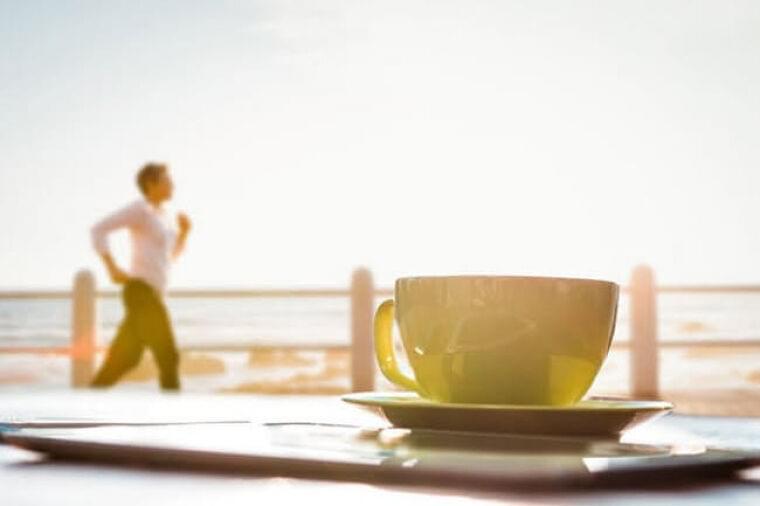 脂肪を燃やすコツ 午前より午後、運動前にカフェイン