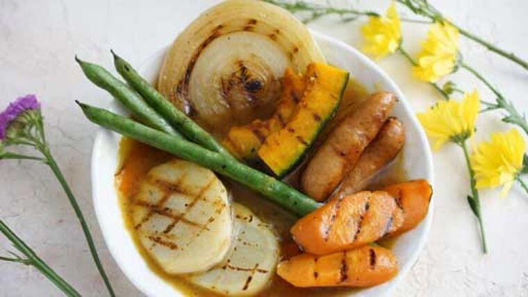 グリルカレースープ…大切なのは、野菜のもつ「甘み」   ヨミドクター(読売新聞)