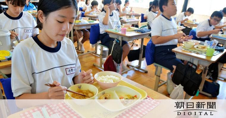 郷土料理で外国知ろう 磐田市の給食で試み:朝日新聞デジタル