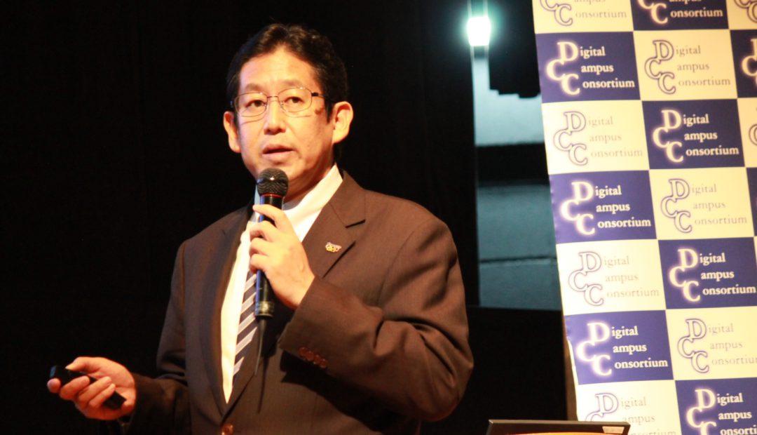 パナソニックシステムネットワークス株式会社 執行役員の中島好博さんは、ポートフォリオと自社のデータベースとの連携可能性に言及した。