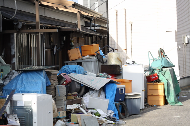汚部屋脱出、汚部屋から出たゴミ