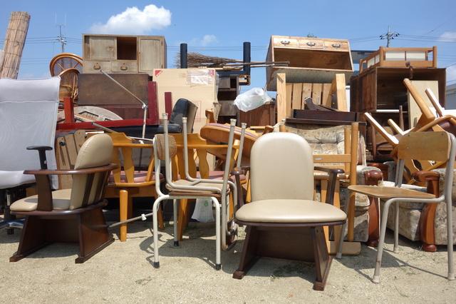 断捨離で家具を捨てる