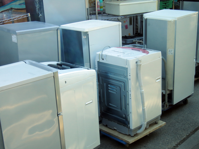 洗濯機を無料で回収してもらう方法