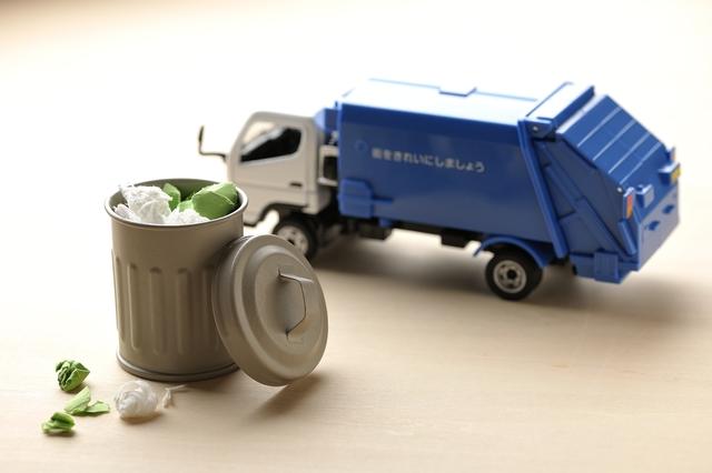 家庭ゴミの回収を行ってもらう