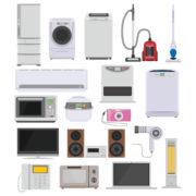 家電の処分どうしたらいいの?正しい処分方法は?