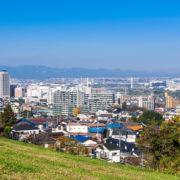 不用品回収を行う多摩市の風景