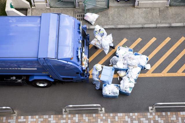 家庭ゴミの回収を業者に依頼する