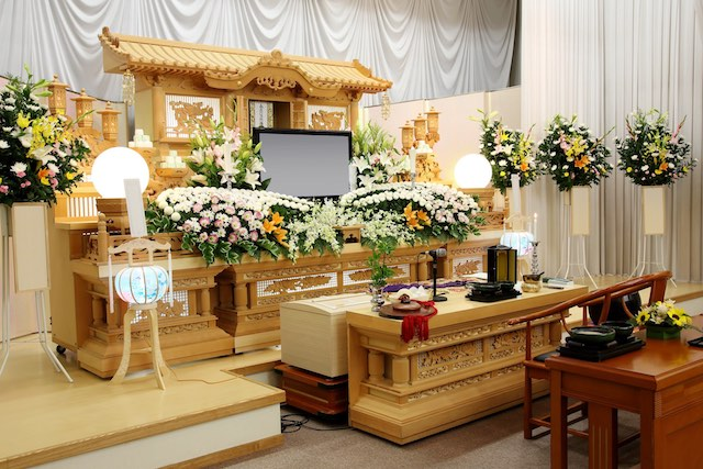 孤独死の人の葬儀