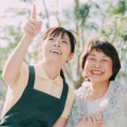 特定施設入所者生活介護で暮らす女性