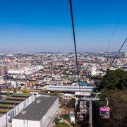 不用品回収をする稲城市の風景