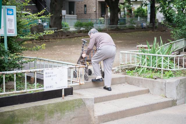 ひとり暮らしの高齢者