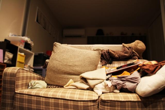 汚い部屋を掃除する前の心構え