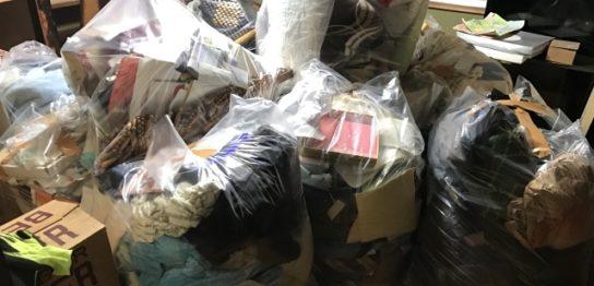 引越し時の大量のゴミ