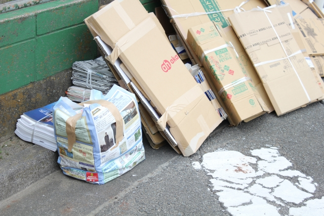 地域のゴミ捨て場