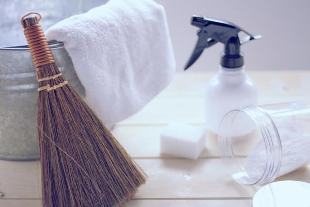 ゴミ部屋の清掃