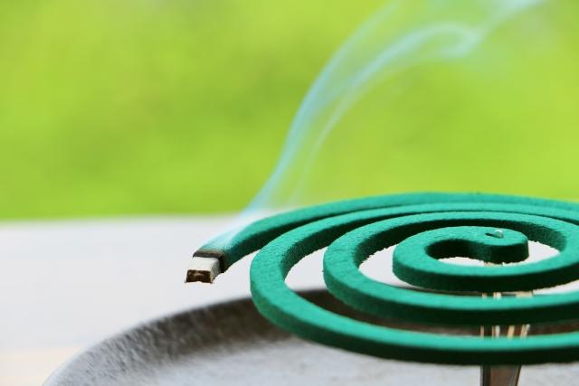 片付け時に使用する蚊取り線香