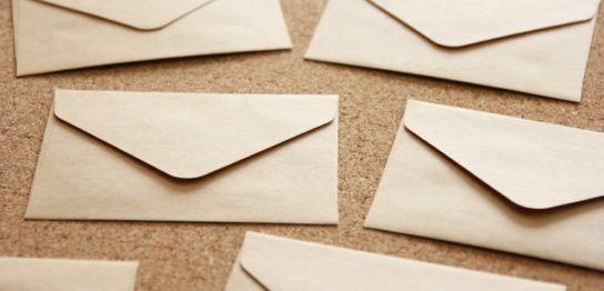 手紙を断捨離する