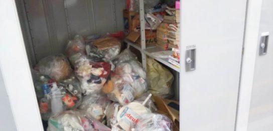 実家の掃除で出た大量のゴミ