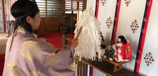 第3回人形供養祭の様子
