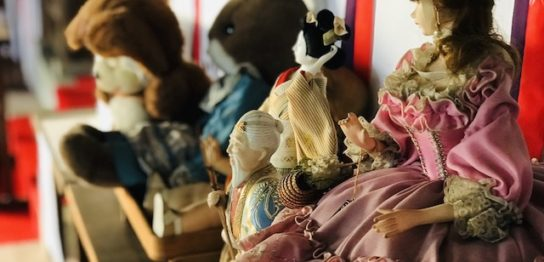 第5回の人形供養祭の様子