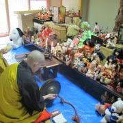第7回の人形供養祭の様子