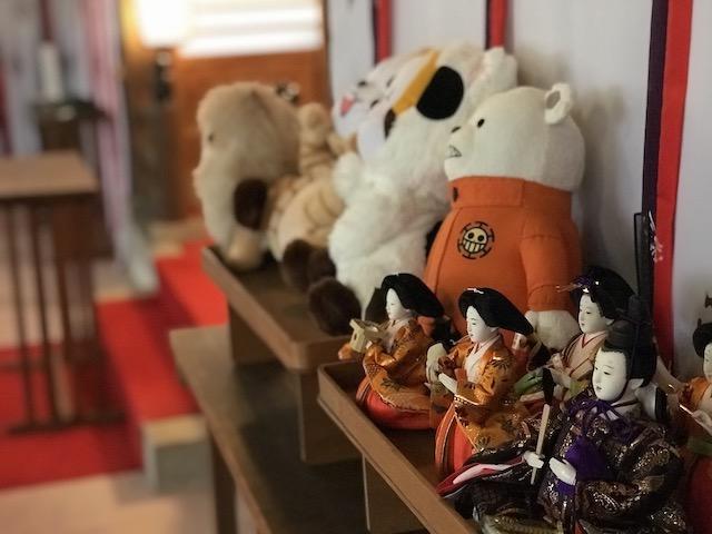 第14回目の人形供養祭で供養される人形