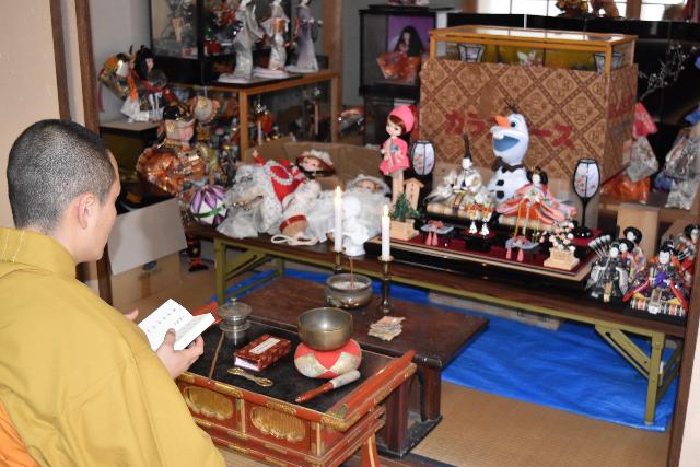 第12回目の人形供養祭の様子の写真