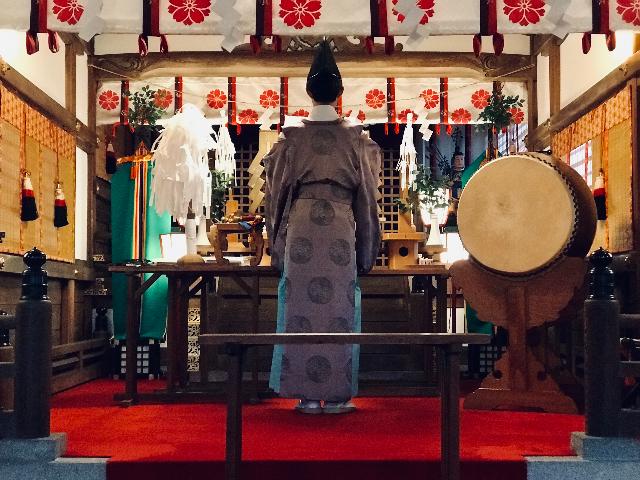 第18回目となる富士浅間神社での人形供養祭の写真