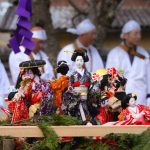 丹州観音寺の人形供養祭の様子