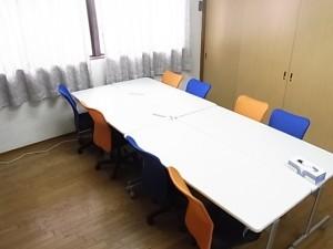 貸し会議室(最大10名収容)