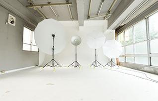 ホワイトホリゾント撮影スタジオ