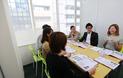 英会話スクールの教室スペース