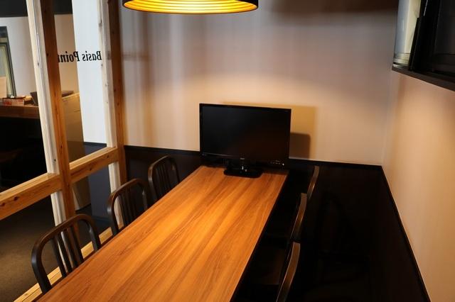 【会議室3室】新橋・銀座・コワーキングBasis Point【新橋駅から徒歩1分】貸会議室A 6名・BasisPointの画像1