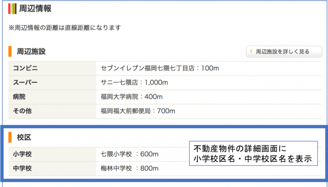 福岡市でオープンデータを活用した「校区情報サービス」を開始