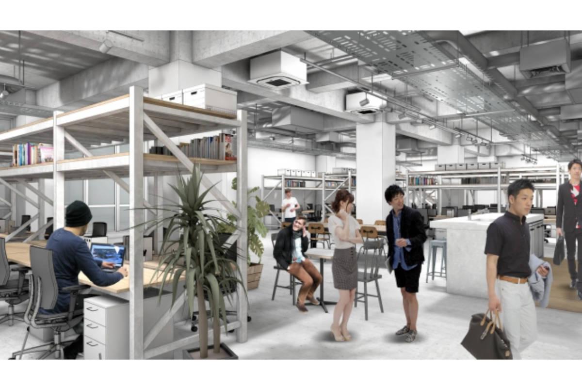 東和不動産、トヨタグループなど大企業とベンチャーが交流する新たなタイプのオフィスビル建設に着手