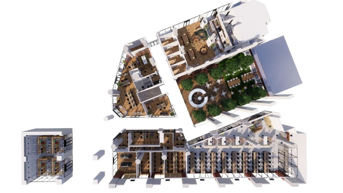 恵比寿ガーデンプレイスに、新たなライフスタイルを提案する複合ワークプレイス誕生