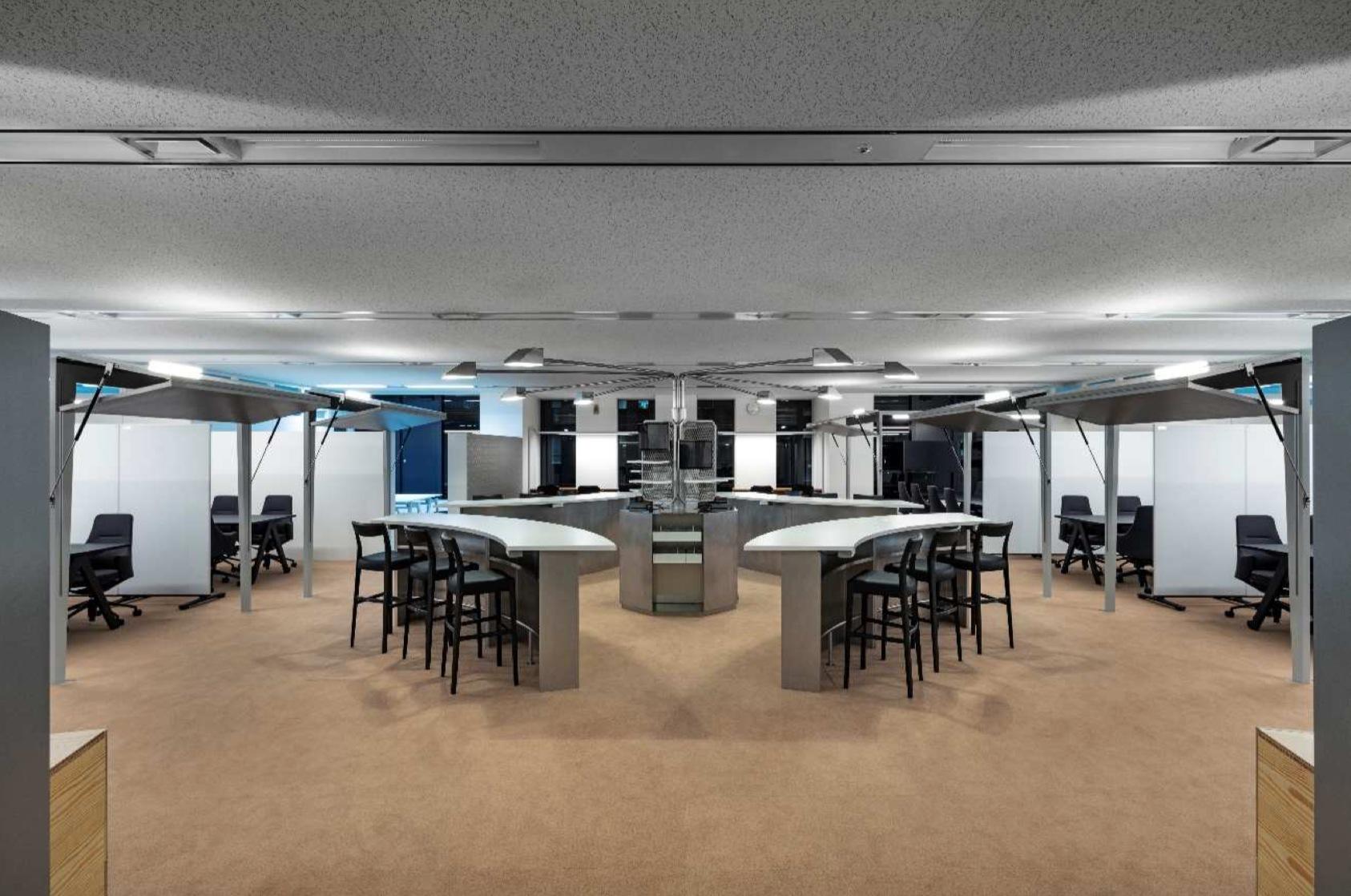 NTTコムウェア | アジャイル手法による協創型イノベーションをビジネスの柱をするための新拠点開設