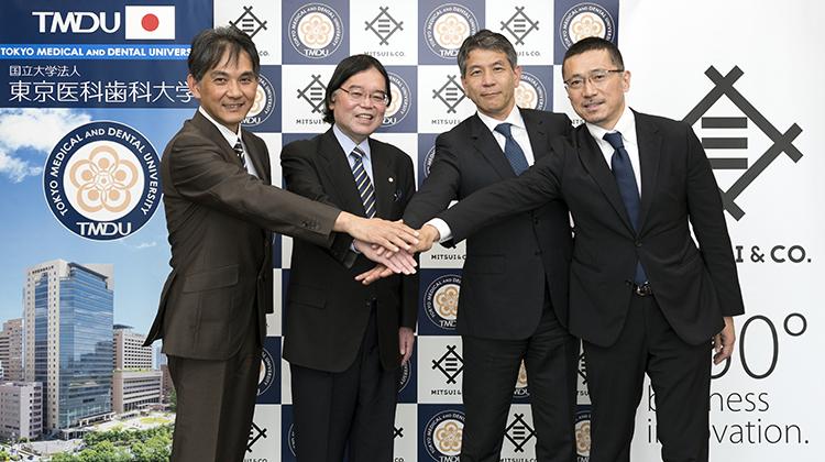 東京医科歯科大学と三井物産が連携、AI活用で歯科分野の診断・治療支援